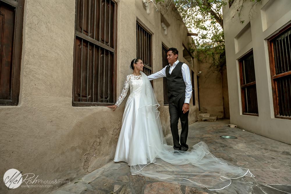 Destination Post Wedding Photoshoot In Dubai