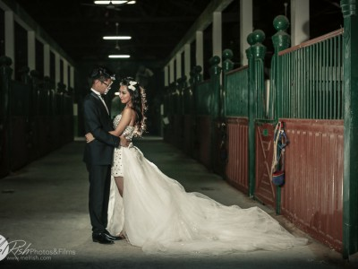A Chinese Pre-wedding Photoshoot at Desert Palm Resort