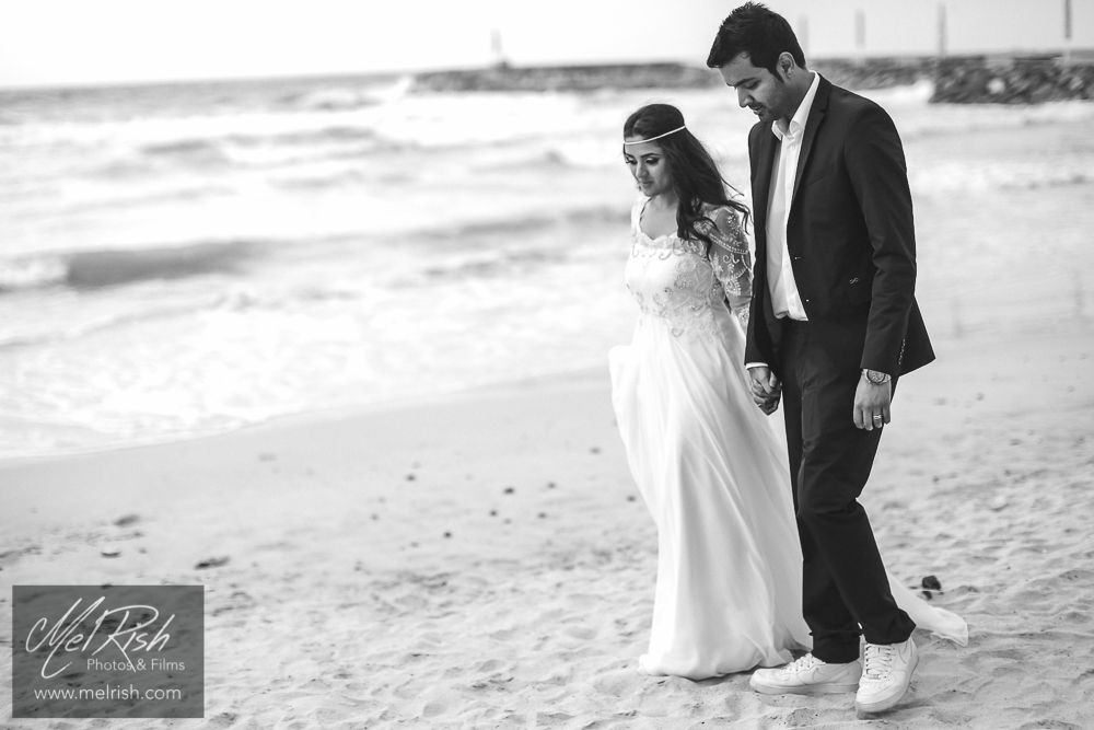 Dubai beach wedding