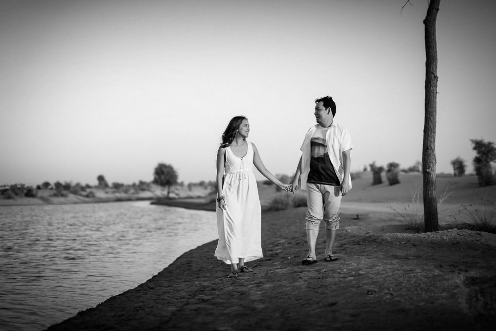engagement shoot dubai