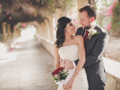 Desert Palm Per Aquum Wedding | Tim and Maha