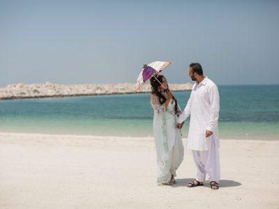 JA Beach Resort Wedding | Ronny and Anisha