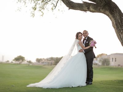 Arabian Ranches Golf Club Wedding | Hershad and Asma