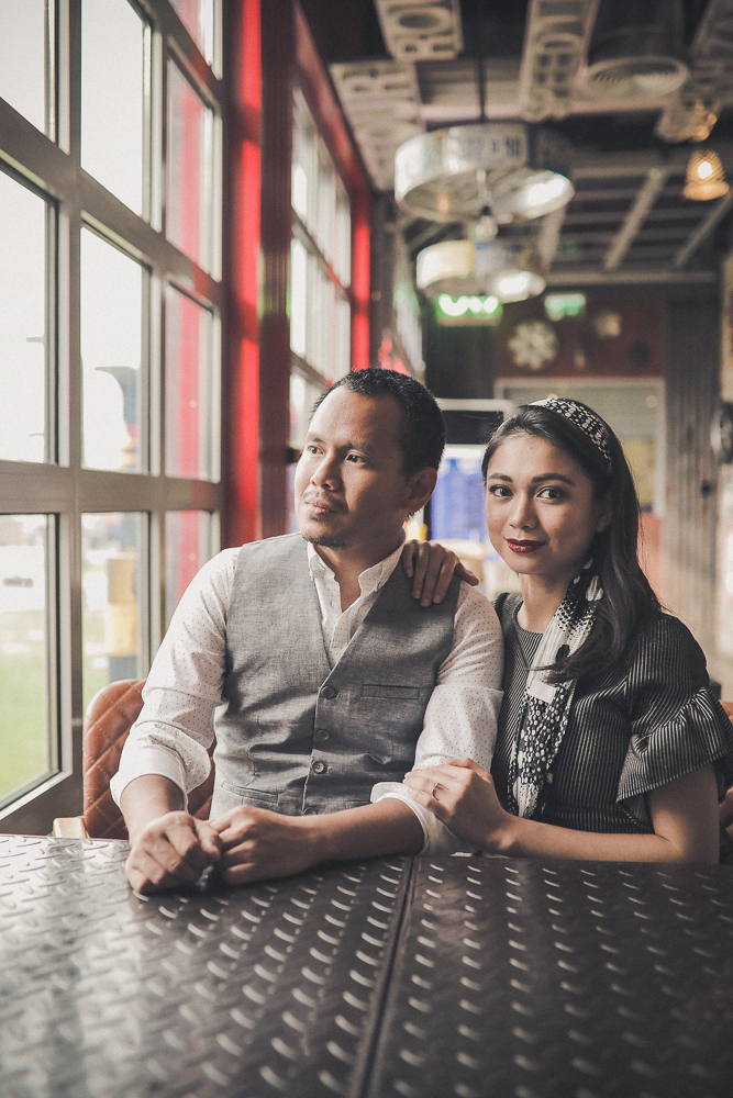 Dubai pre wedding photography Last Exit