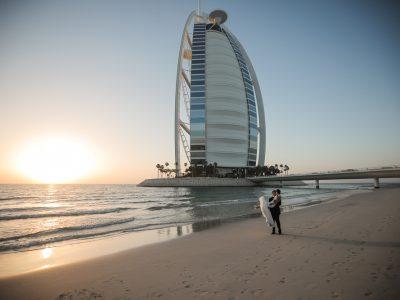 Burj Al Arab Wedding | Gareth and Kate