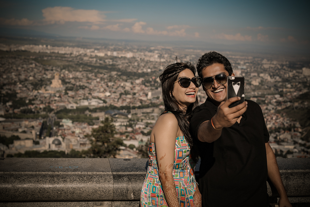 Prewedding photoshoot in Tbilisi