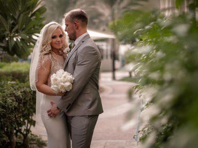 Fairmont The Palm Dubai Wedding | Tom and Samantha