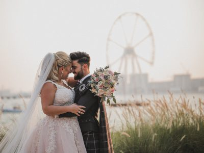One and Only the Palm Dubai Wedding | Jalal and Jill