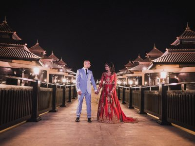 Anantara the Palm Wedding | Amrit & Symren