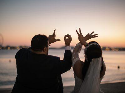 Fairmont the Palm Wedding | I & M