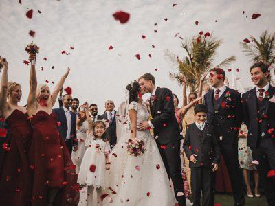 Al Qasr Hotel Dubai Wedding | Reihaneh and Igor Wedding