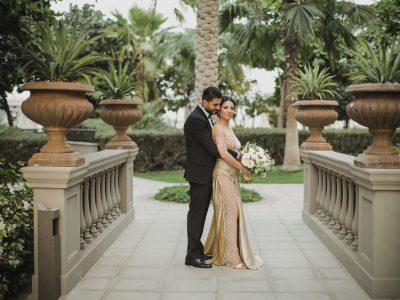 Palazzo Versace Dubai Elopement | Raed and Sarah
